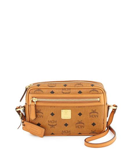 MCM Heritage Crossbody Bag, Cognac