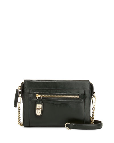 Mini Crosby Crossbody Bag, Dark Forest