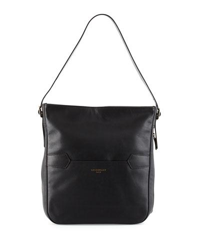 Longchamp 2.0 Hobo Bag, Black