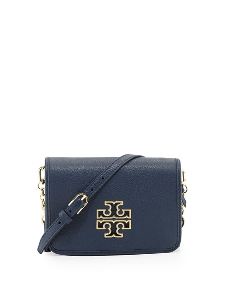 Britten Leather Combo-Crossbody Bag, Hudson Bay