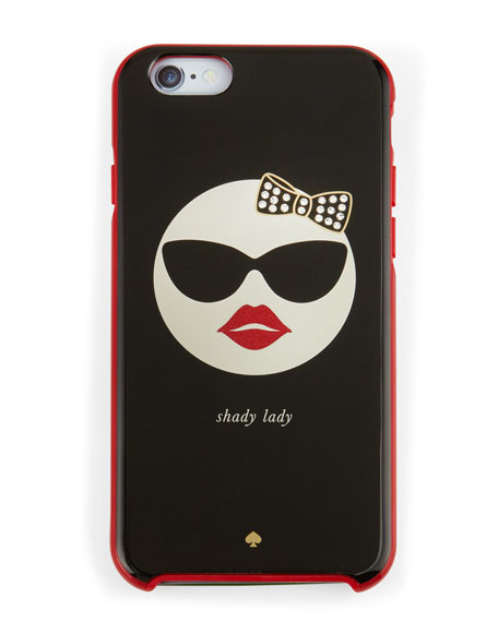 shady lady resin iPhone 6 case, multicolor