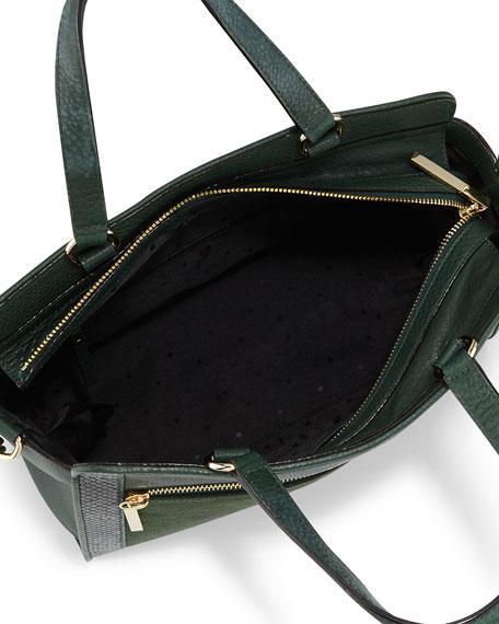 chatham lane harlan satchel bag, forest leaf
