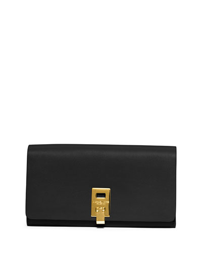 Miranda Leather Wallet, Black
