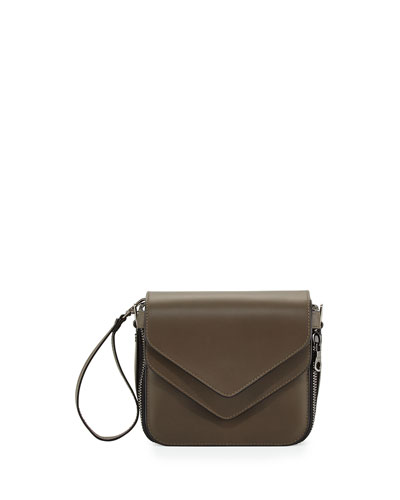 Fillipo Small Crossbody Clutch Bag, Mole