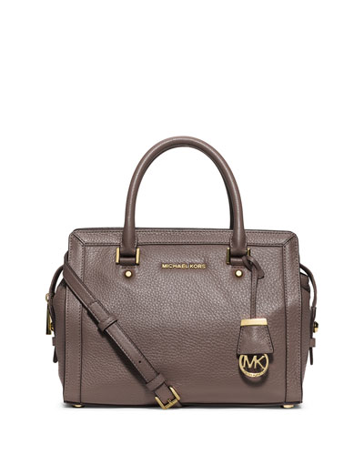 Collins Medium Satchel Bag, Cinder