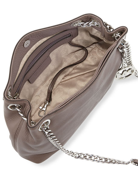 Jet Set Chain Medium Messenger Bag, Cinder