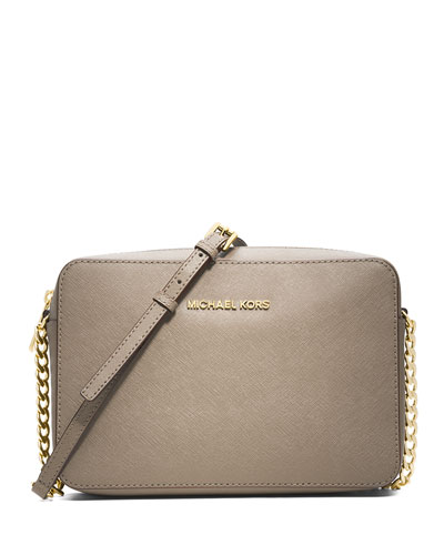 Jet Set Travel Large Crossbody Bag, Dark Dune