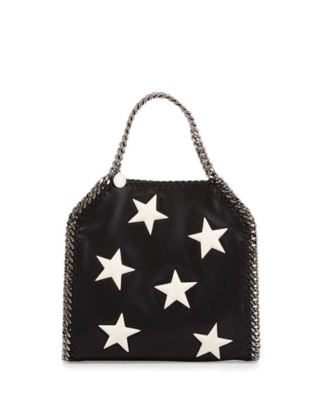 Stella McCartney Falabella Mini Star Shoulder Bag, Black