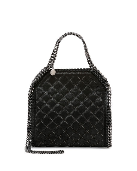 Stella McCartney Falabella Mini Quilted Studs Tote Bag,