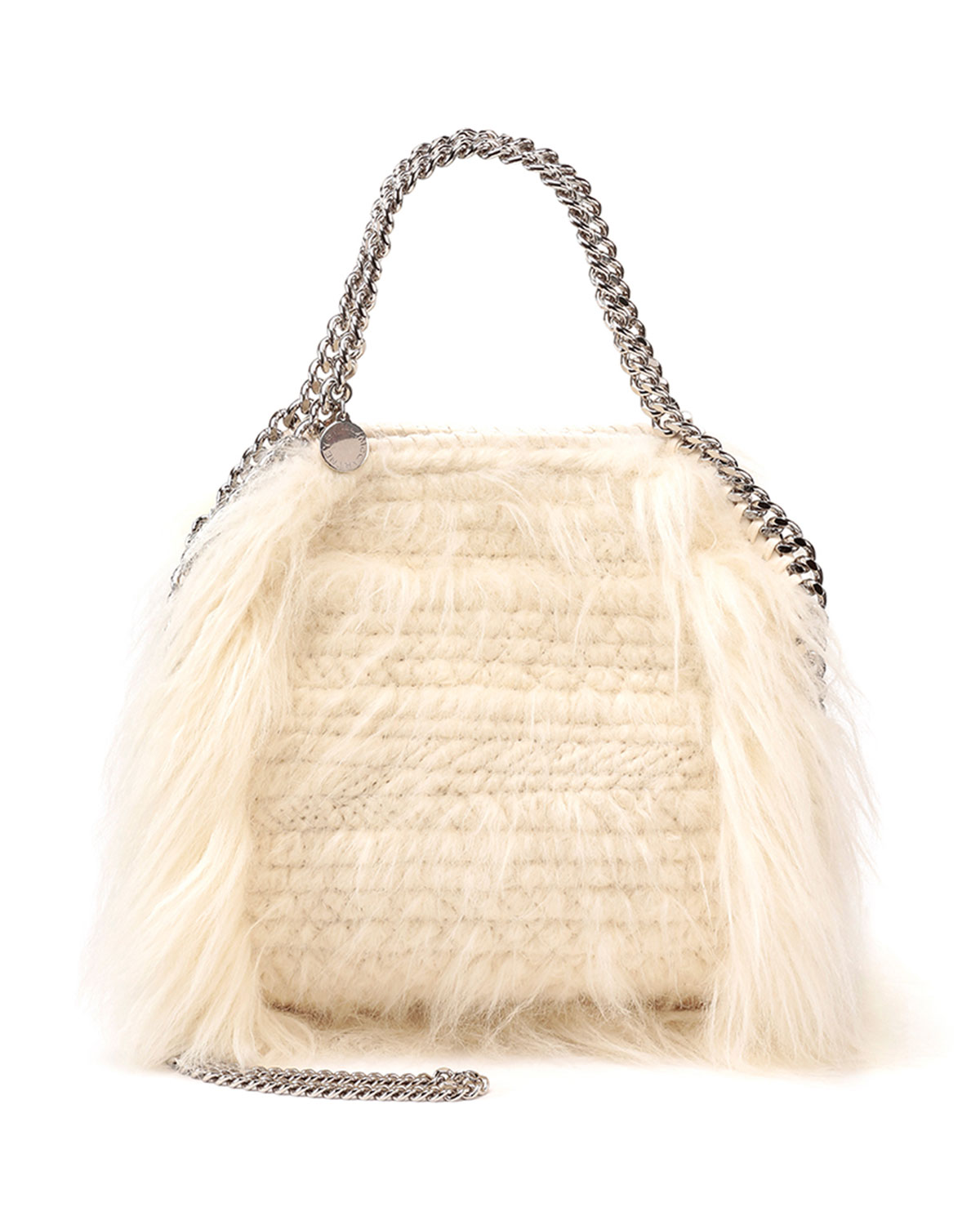 Stella McCartneyFalabella Mini Faux-Fur Tote Bag 086a45791b13f