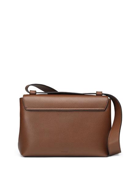 GG Marmont Medium Leather Shoulder Bag, Brown