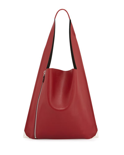 Estia Sensua Calfskin Shoulder Bag, Ribes