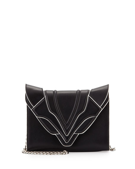 Elena Ghisellini Felina Mignon Sensua Shoulder Bag, Black