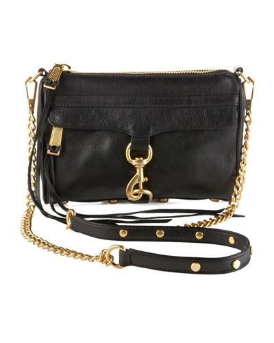 Mini MAC Crossbody Bag, Black