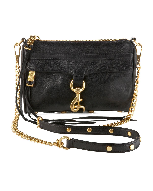 Mini Mac Crossbody Bag Black