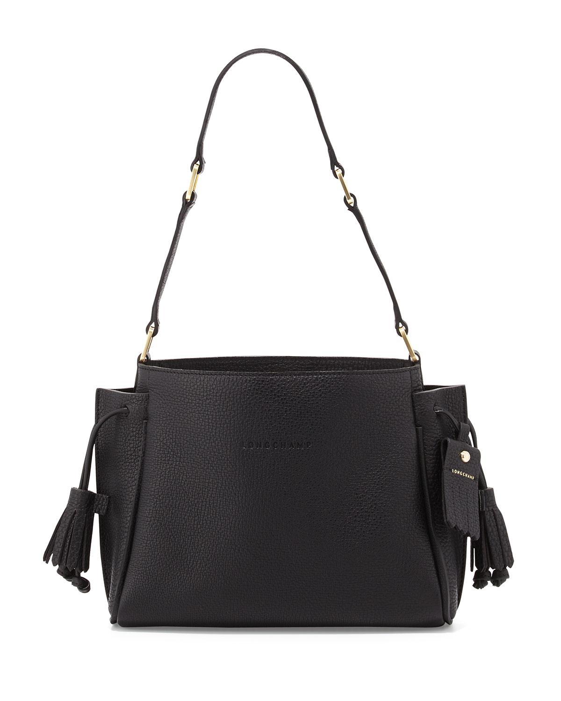 c6e6bd7e159a Longchamp Penelope Small Leather Shoulder Bag