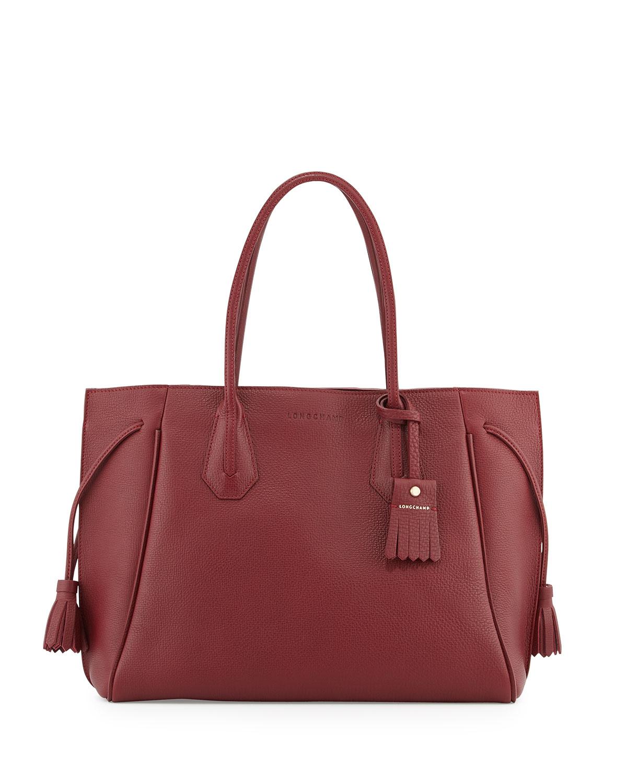 f5c9655da021 Longchamp Penelope Leather Shoulder Bag