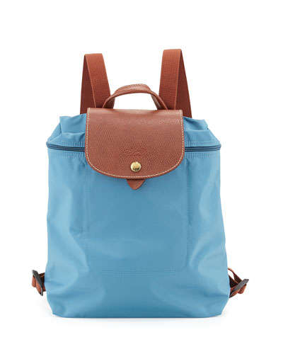 Le Pliage Nylon Backpack, Iceblue