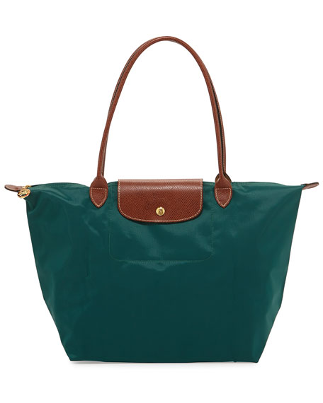 Le Pliage Large Shoulder Tote Bag, Cedar