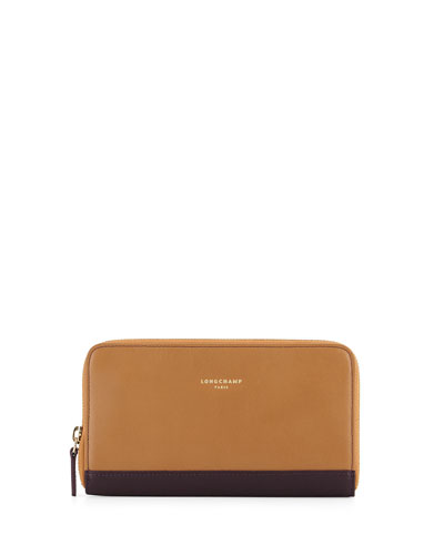 Zip-Around Logo Continental Wallet