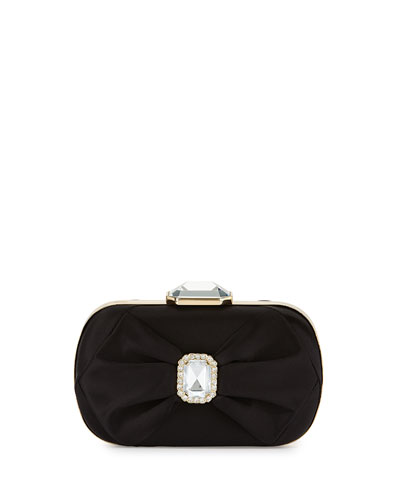 Arielle Evening Clutch Bag, Black