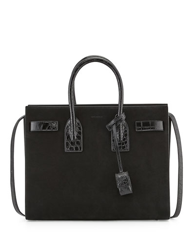 Sac De Jour Suede Small Carryall Bag