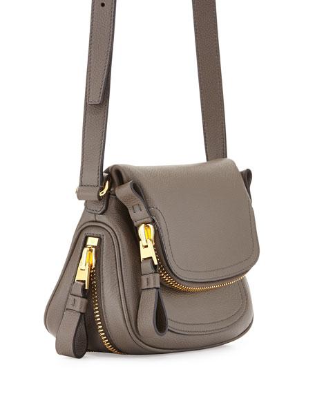 Jennifer Micro Crossbody Bag, Graphite