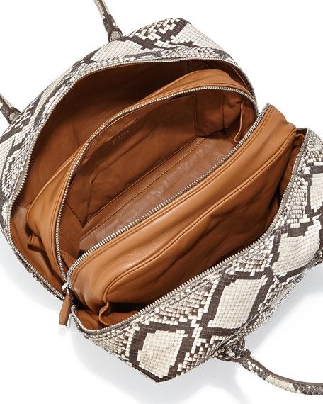 prada brown leather handbag - prada inside bag white/orange + bright yellow