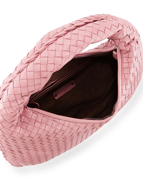 Bottega Veneta Veneta Medium Sac Hobo Bag, Mallo Pink