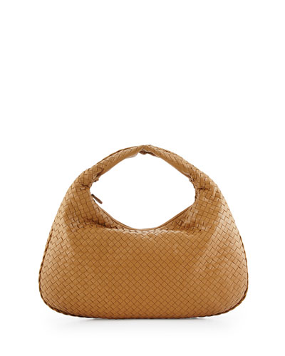 Veneta Large Sac Hobo Bag, Camel
