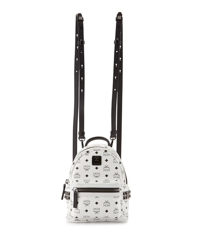 Stark Side Stud Backpack X-Mini, White