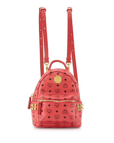 Stark Side Stud Backpack X-Mini, Red