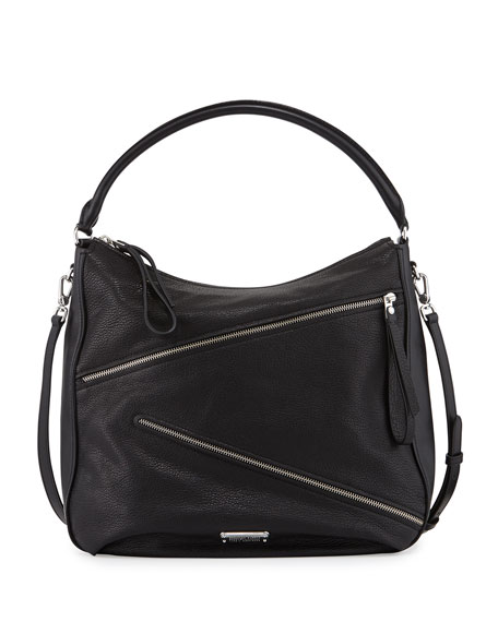 MARC by Marc Jacobs Serpentine Goat Leather Hobo