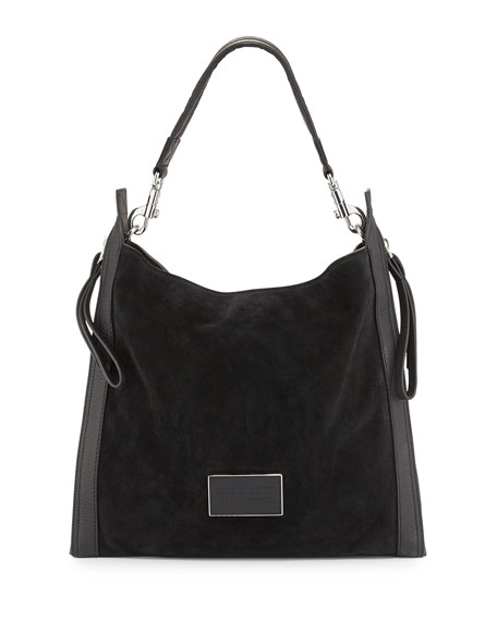 MARC by Marc Jacobs Zip That Suede Hobo