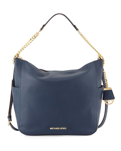 Chandler Large Convertible Shoulder Bag, Navy