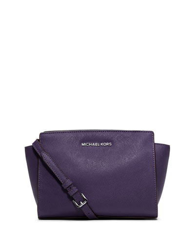 Selma Medium Messenger Bag, Iris