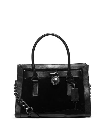 Hamilton Frame Out Satchel Bag, Black