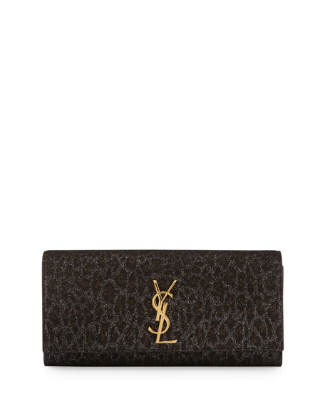 ysl black leather handbag - Saint Laurent Calfskin Monogram Bag | Neiman Marcus