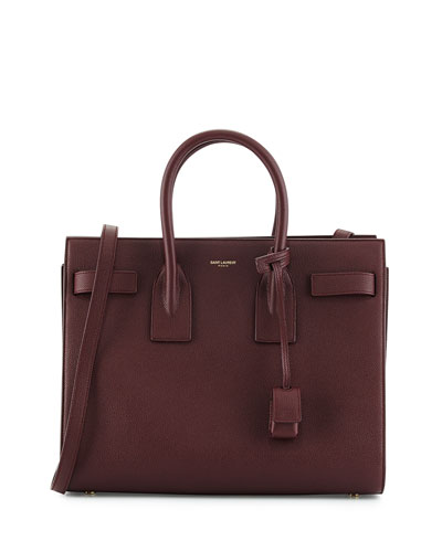 Sac de Jour Small Satchel Bag, Bordeaux