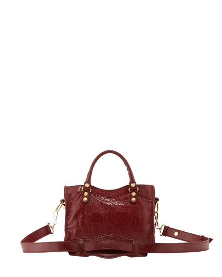Giant 12 City Mini Lambskin Tote Bag, Rouge