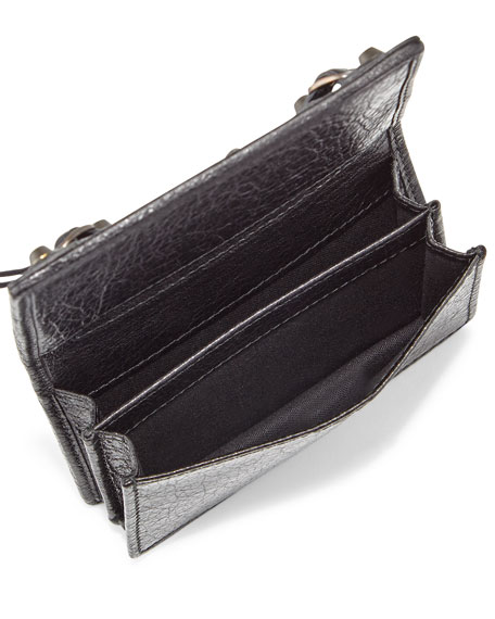 Classic Leather Card Case, Black