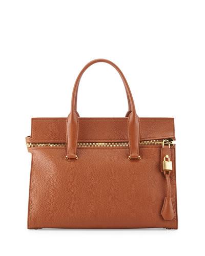 Alix Medium Soft Satchel Bag, Tan