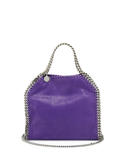 Falabella Mini Tote Bag, Bright Purple