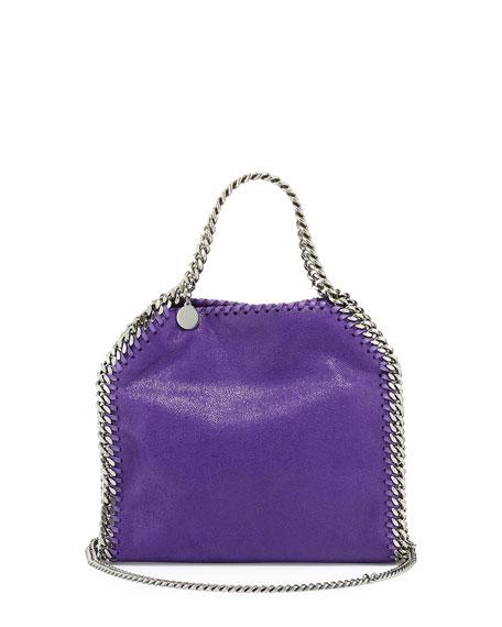 Stella McCartney Falabella Mini Tote Bag, Bright Purple