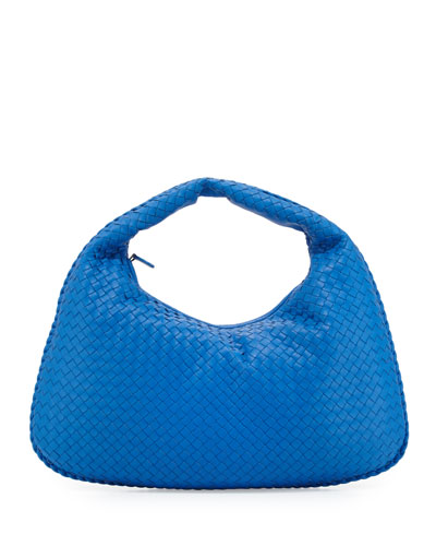 Veneta Large Sac Hobo Bag, Cobalt