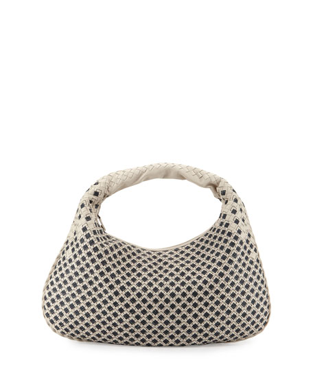 Bottega Veneta Veneta Large Painted Boxes Hobo Bag,