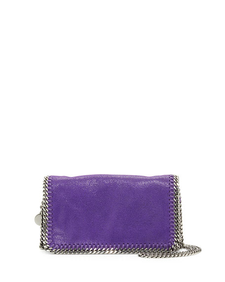Stella McCartney Falabella Crossbody Bag, Bright Purple