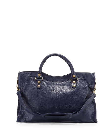 Giant 12 City Lambskin Satchel Bag