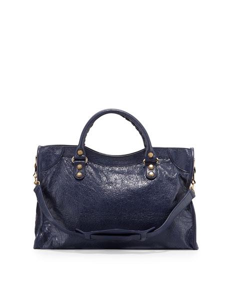 Giant 12 City Lambskin Satchel Bag