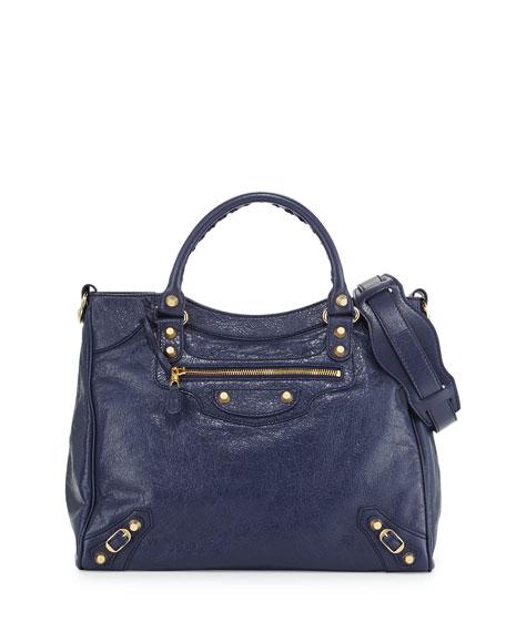 Balenciaga Giant 12 Golden Velo Bag, Dark Blue